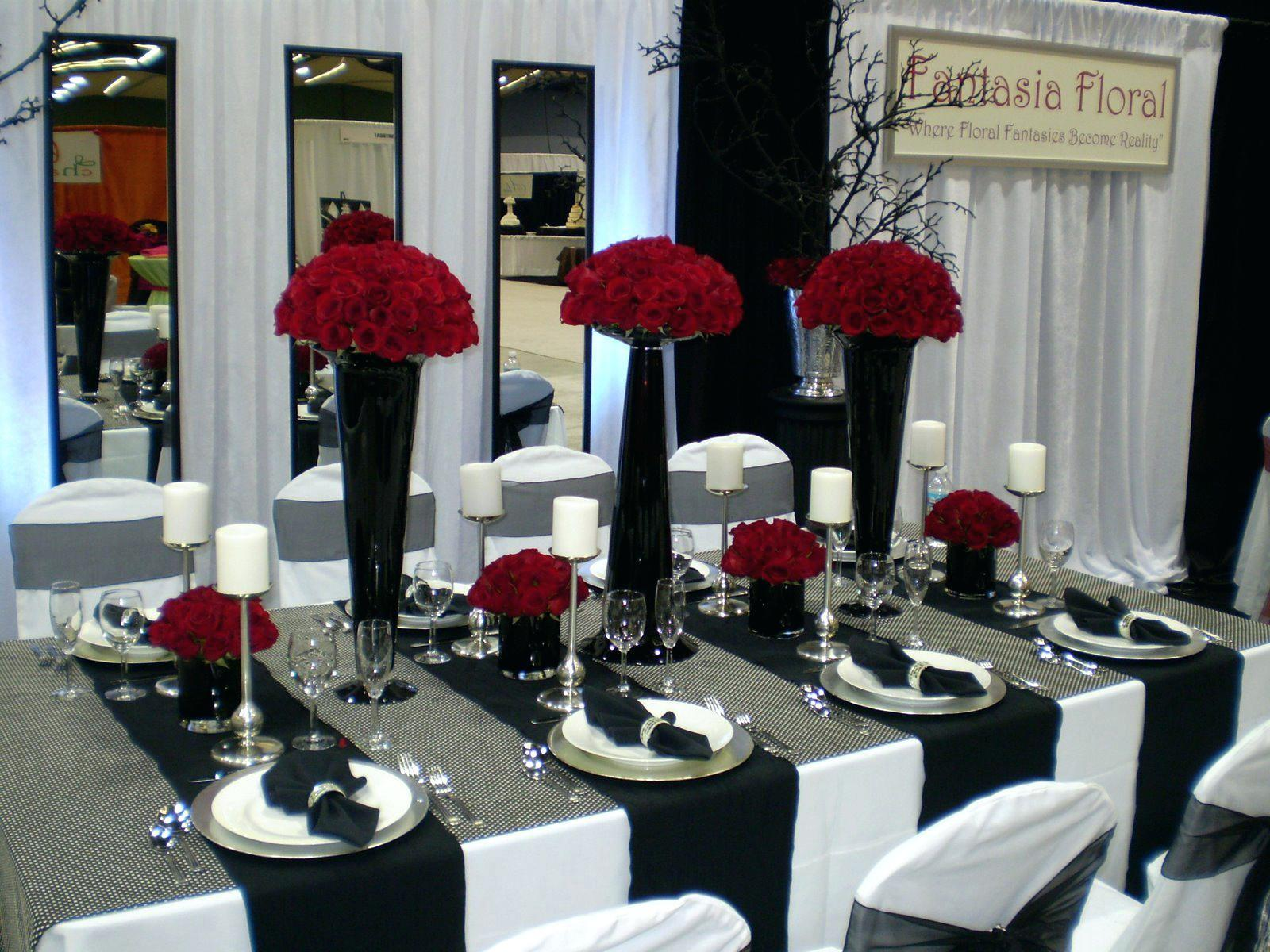 Black White Red Wedding Table Settings Settingsred Decoratorist 125878,Rudolph The Red Nosed Reindeer The Movie Vhs