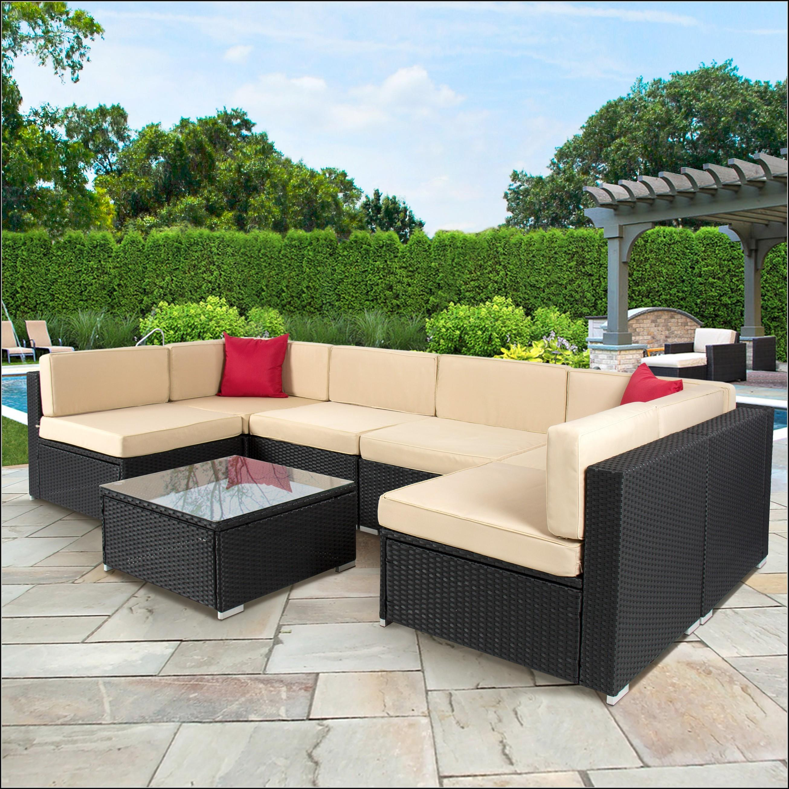 Black Wicker Patio Furniture Walmart Patios Home