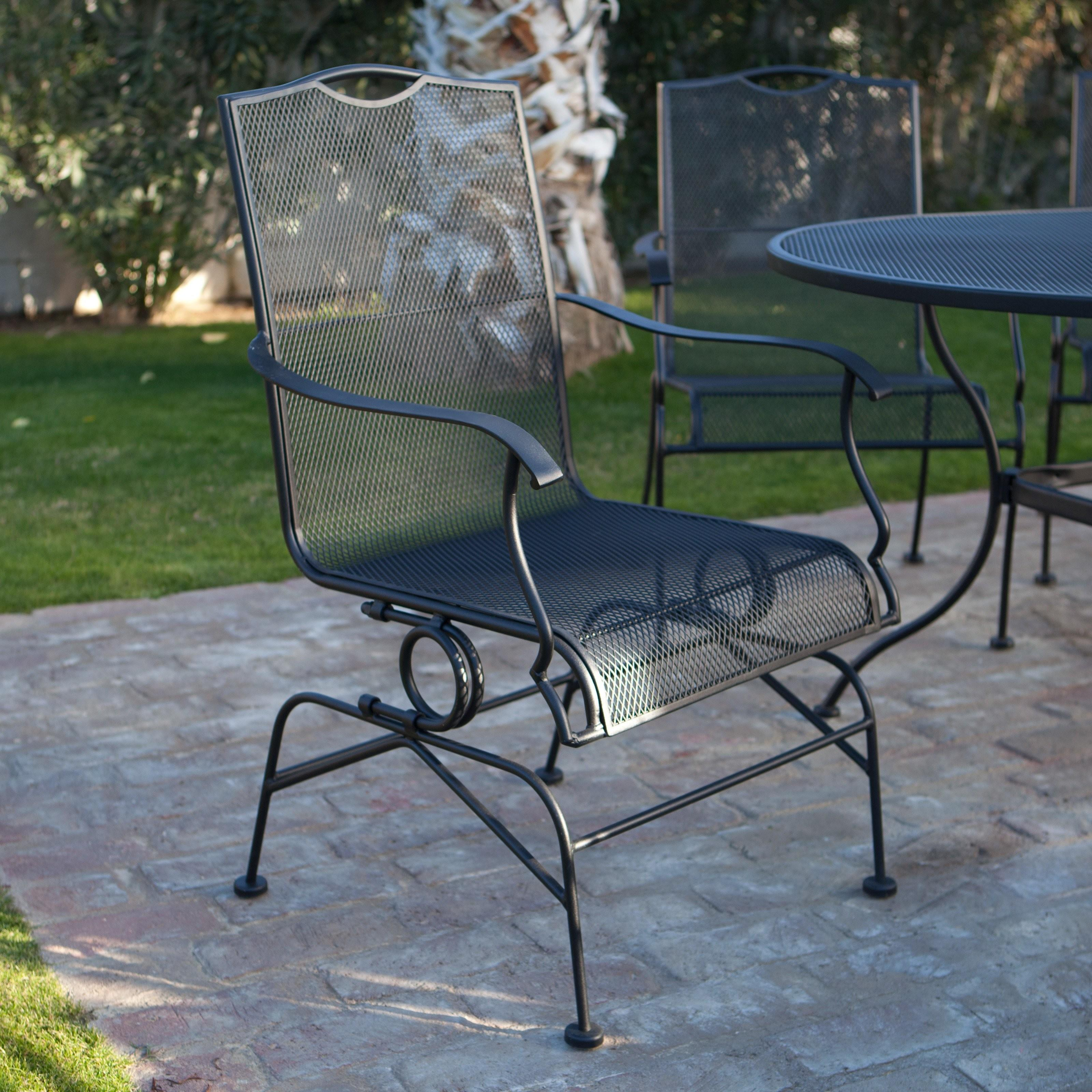Black Wrought Iron Patio Furniture Inspirational