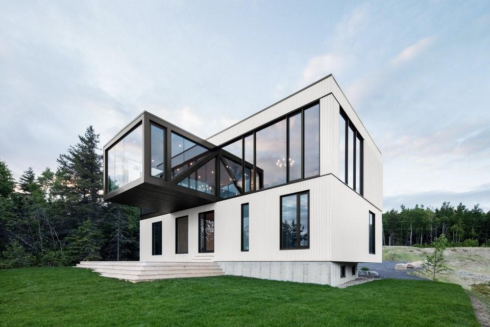 Blanche Chalet Acdf Architecture Canada