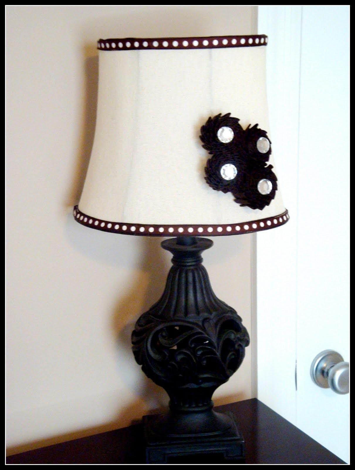 Bless Mess Stress Chic Lampshades