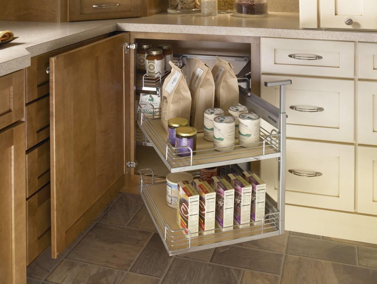 Blind Corner Cabinet Access Trays Frompo