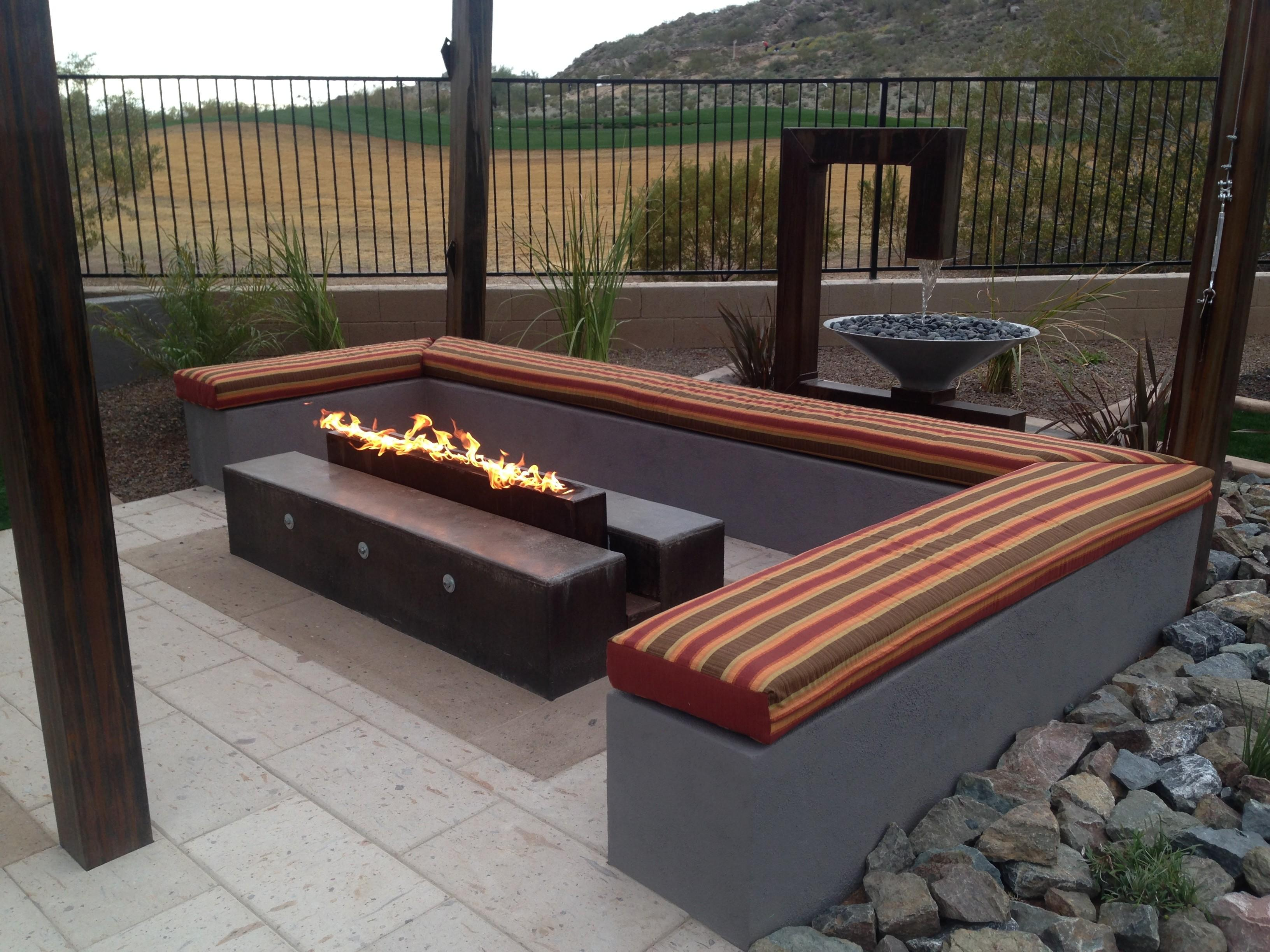 Block Patio Bench Design