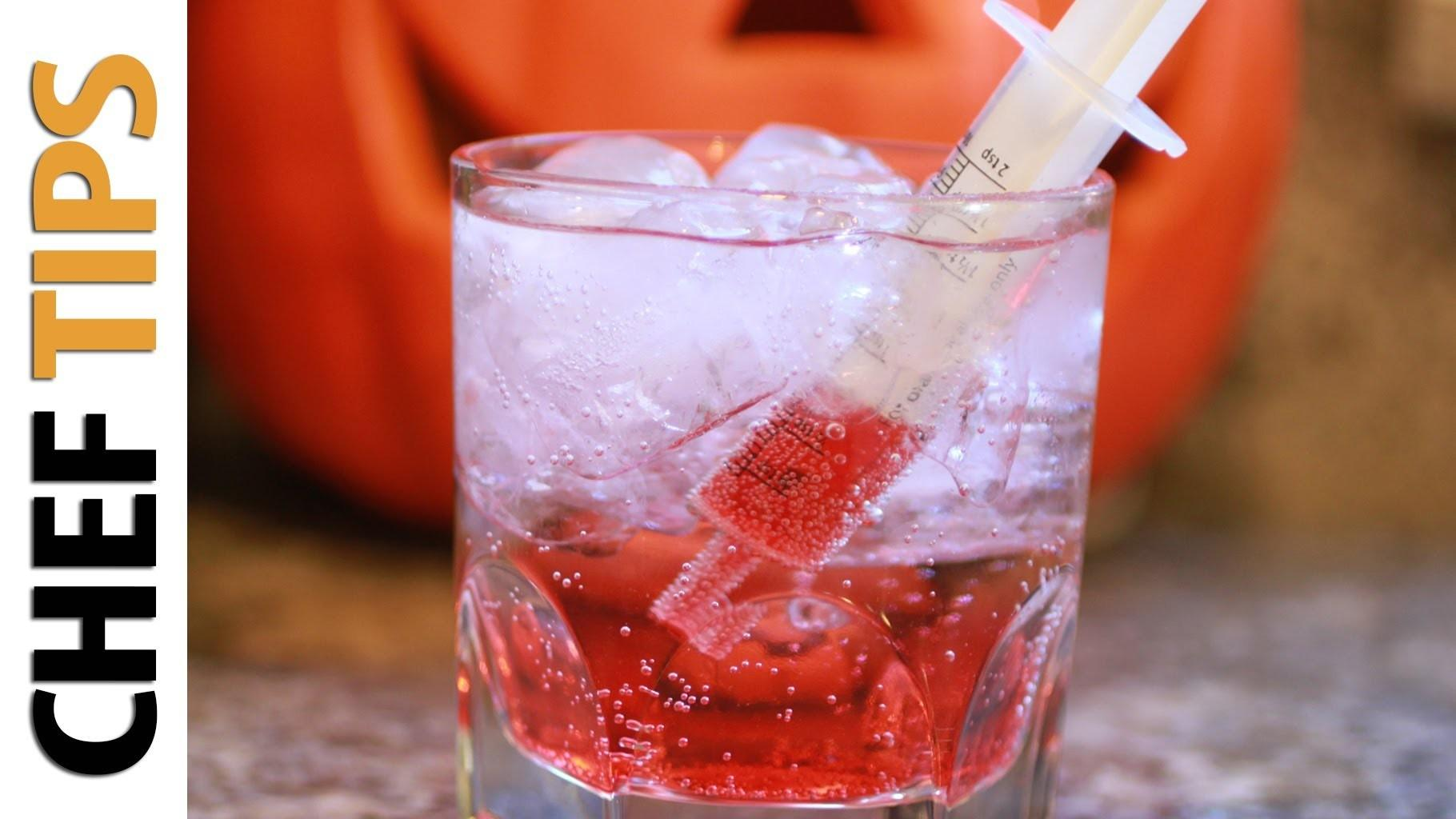 Bloody Shirley Temple Recipe Halloween Drink Recipes
