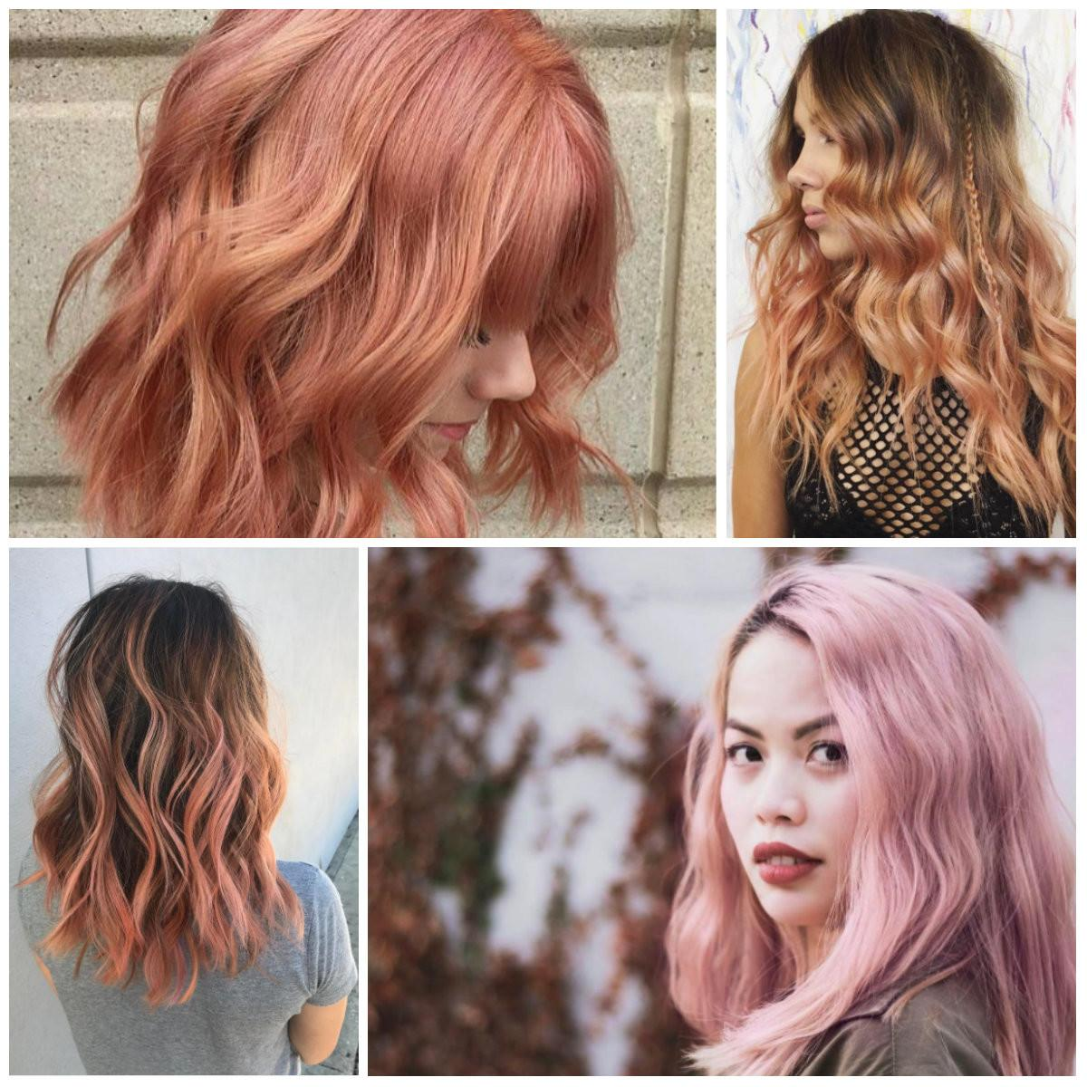 Blorange New Hot Hair Color Trend 2017
