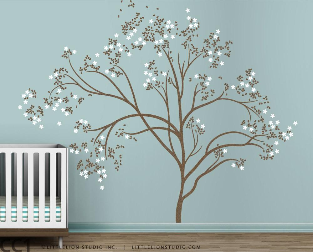 Blossom Tree Extra Large Wall Decal Japanese Cherry