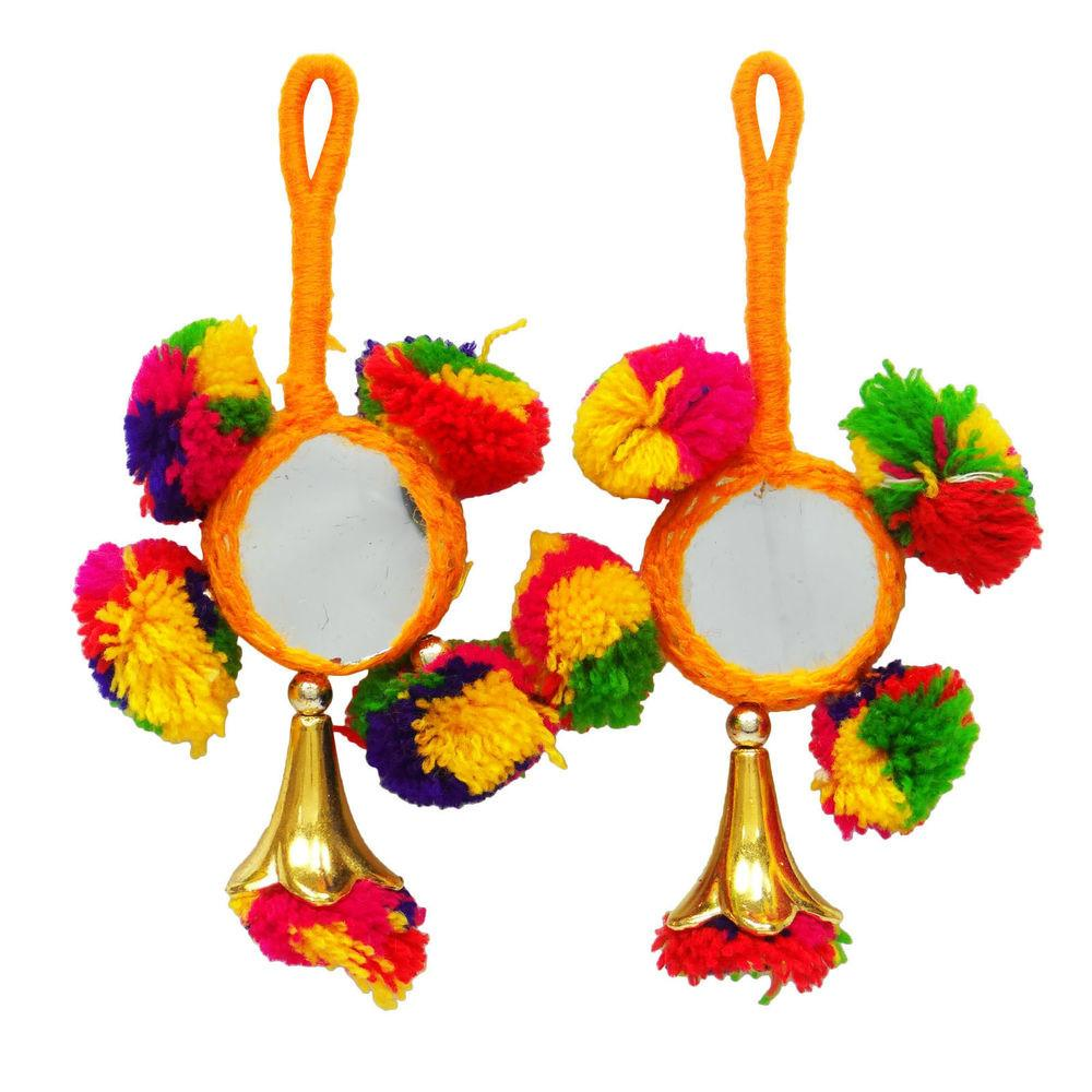 Blouse Pom Tassels Craft Sewing Decorative Indian