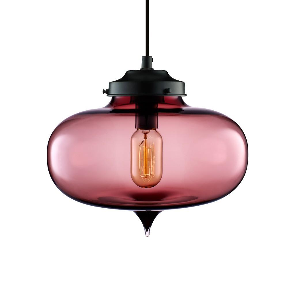 Blown Glass Light Fixtures