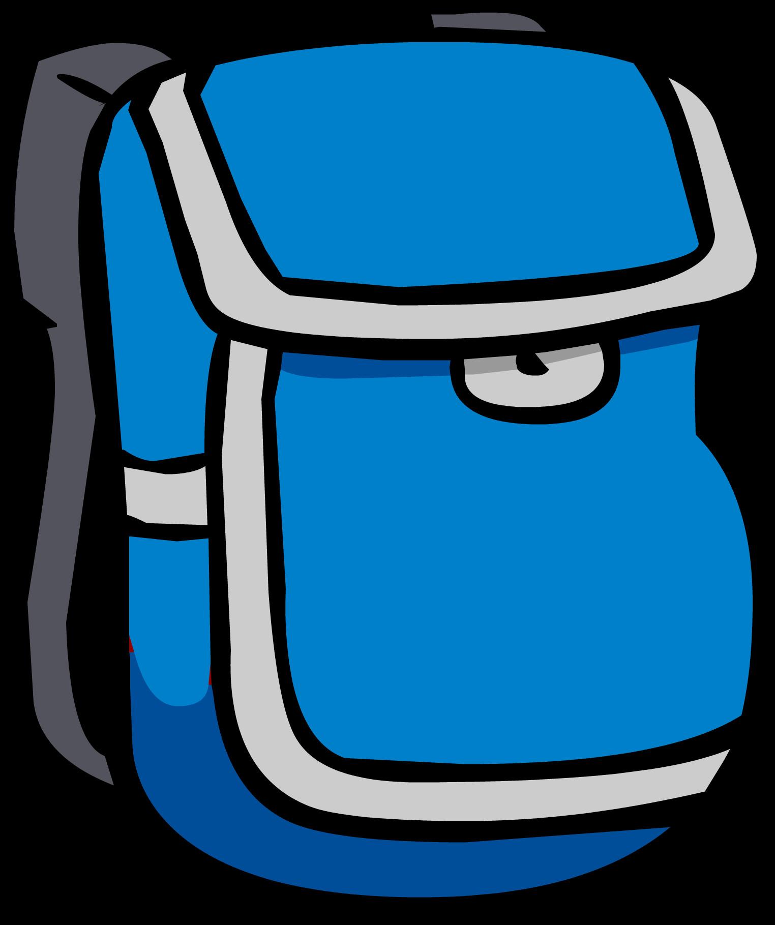 Blue Backpack Icon 312 Club Penguin Wiki