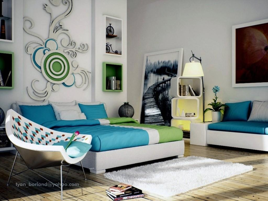 Blue Bedroom Decorating Ideas Teenage Girls Decoratorist 117844