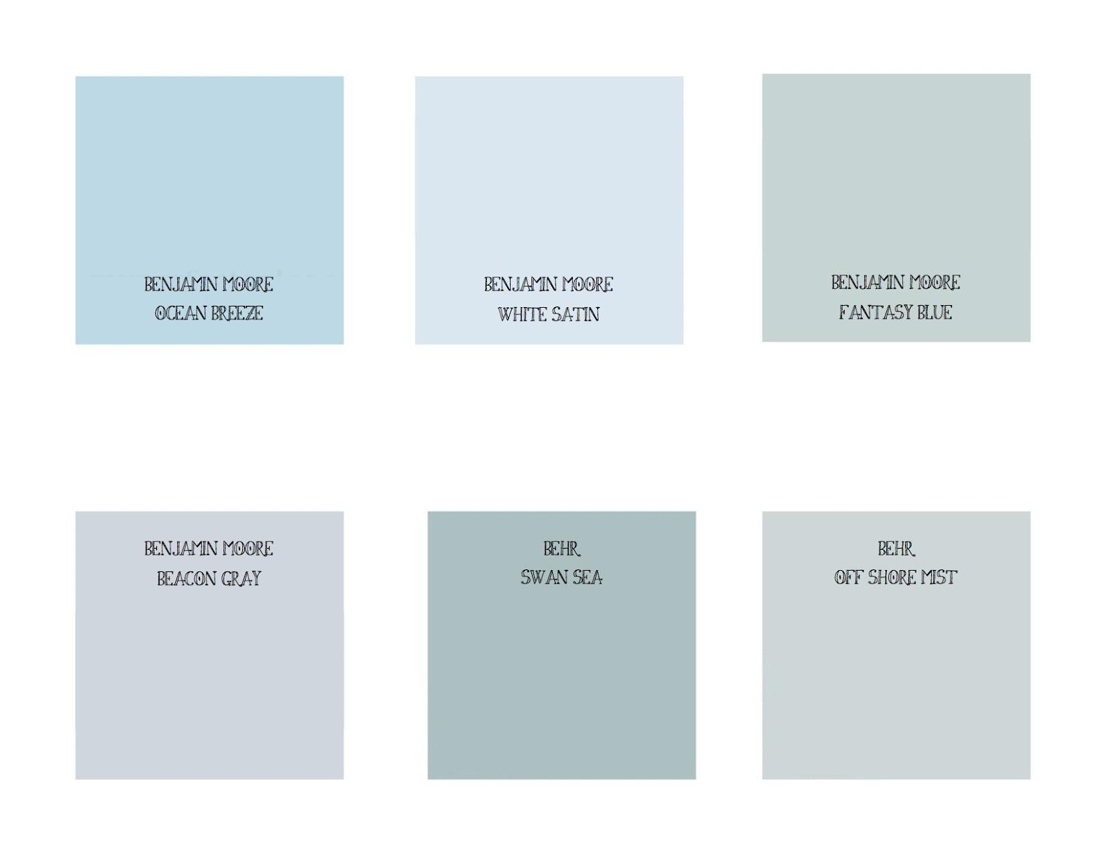 Blue Calming Color Inspiration Stress Reducing Colors