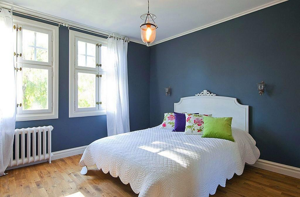 Blue Gray Bedroom Cor