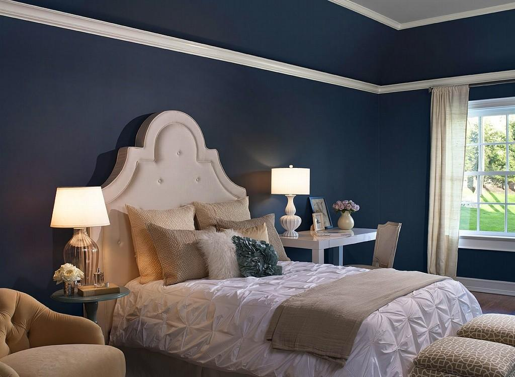 Blue Gray Bedroom Cor Navy Grey