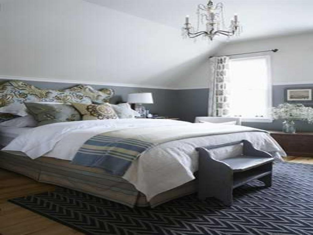 Blue Gray Bedroom Decorating Ideas