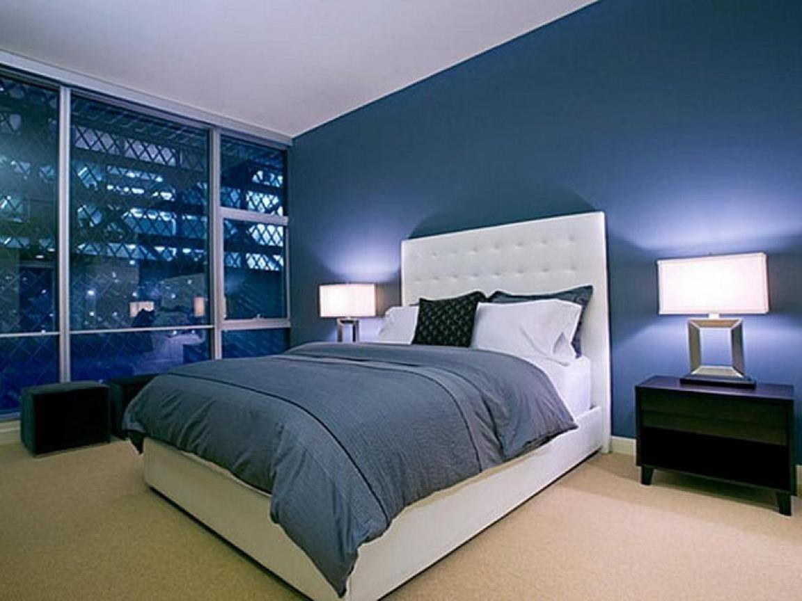 Blue Grey Bedroom Myhousespot
