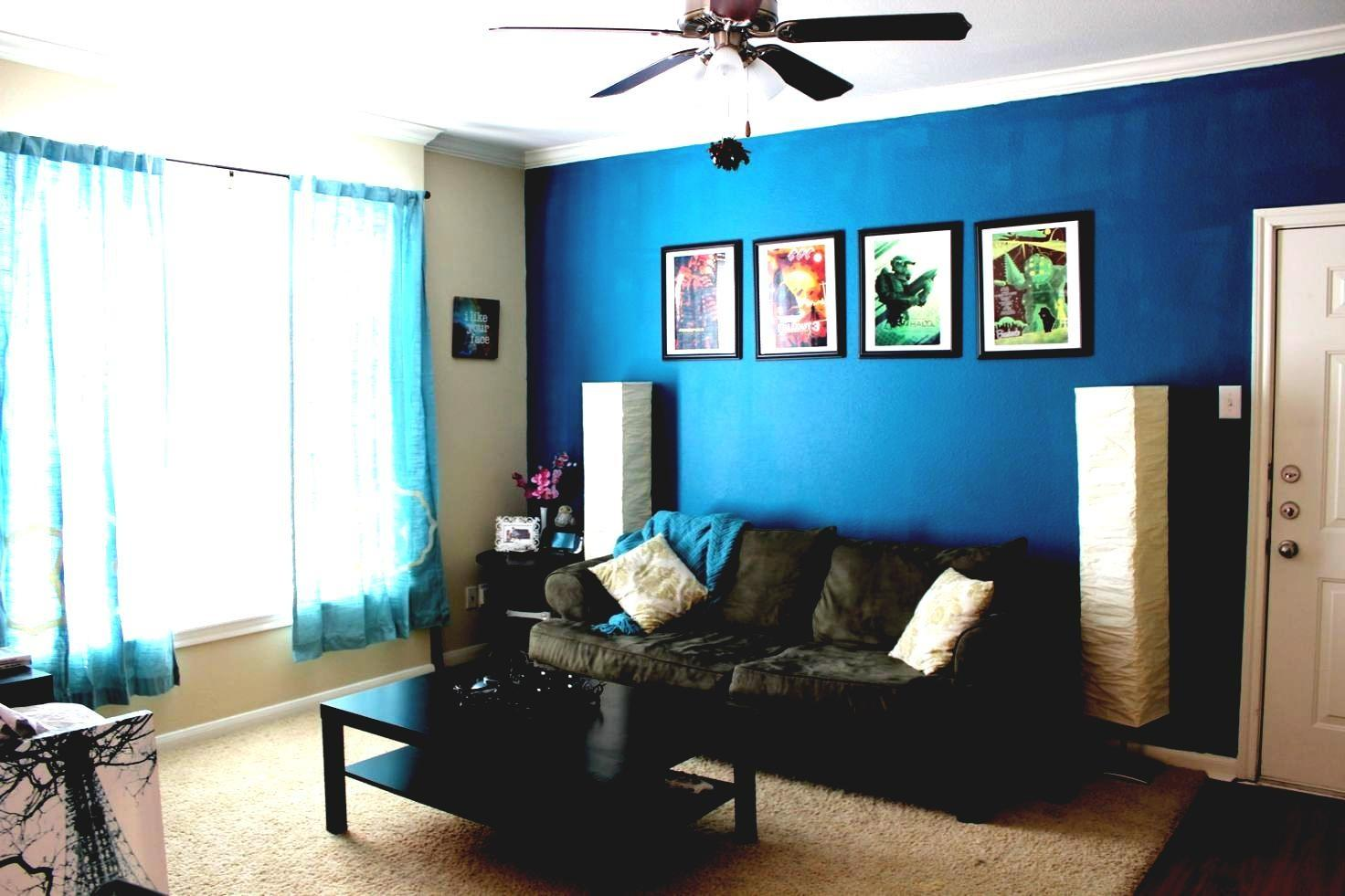 Blue Living Room Color Schemes Home Design Ideas Best