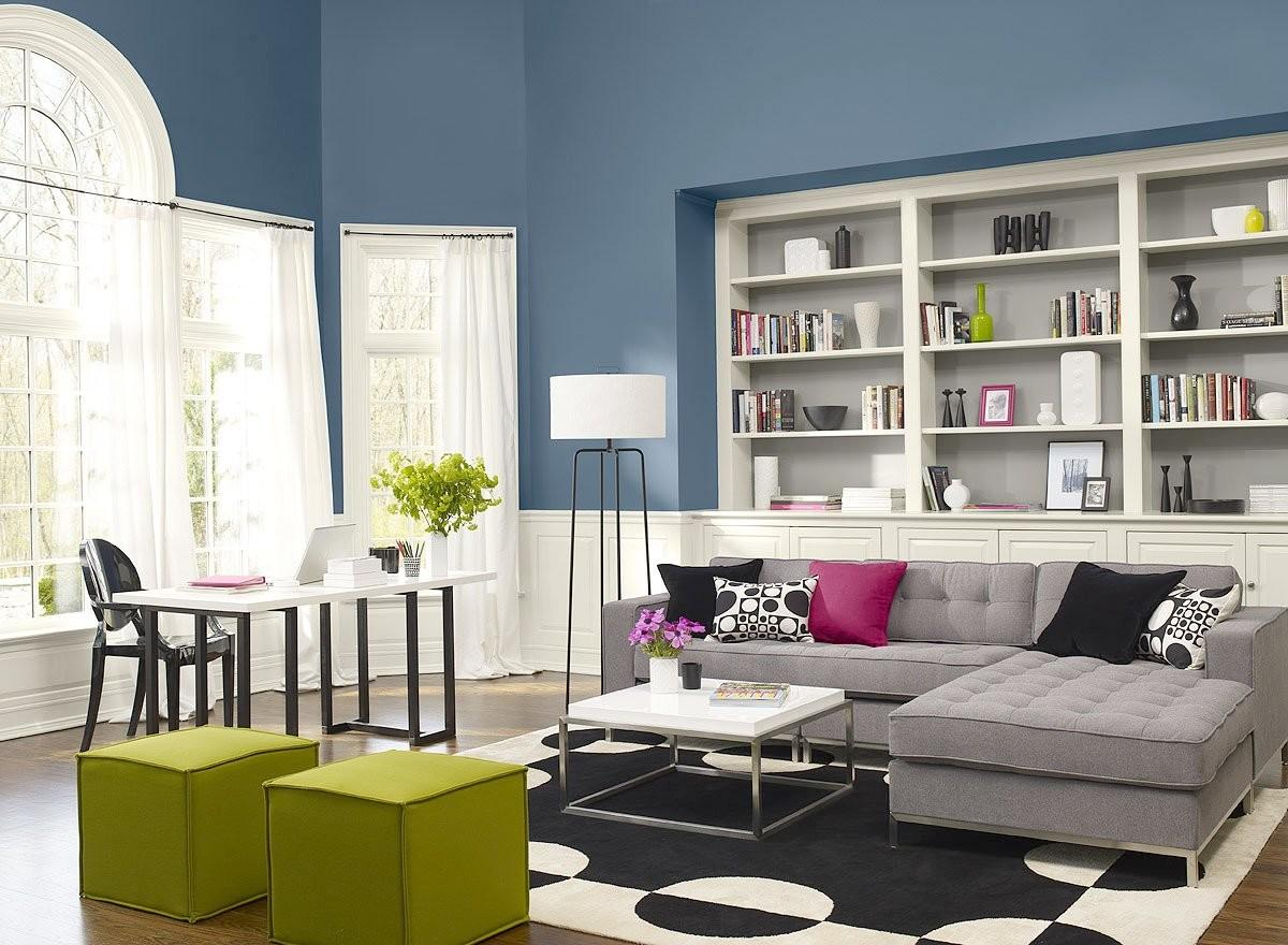 Blue Paint Colors Living Room Home Design Inspiration