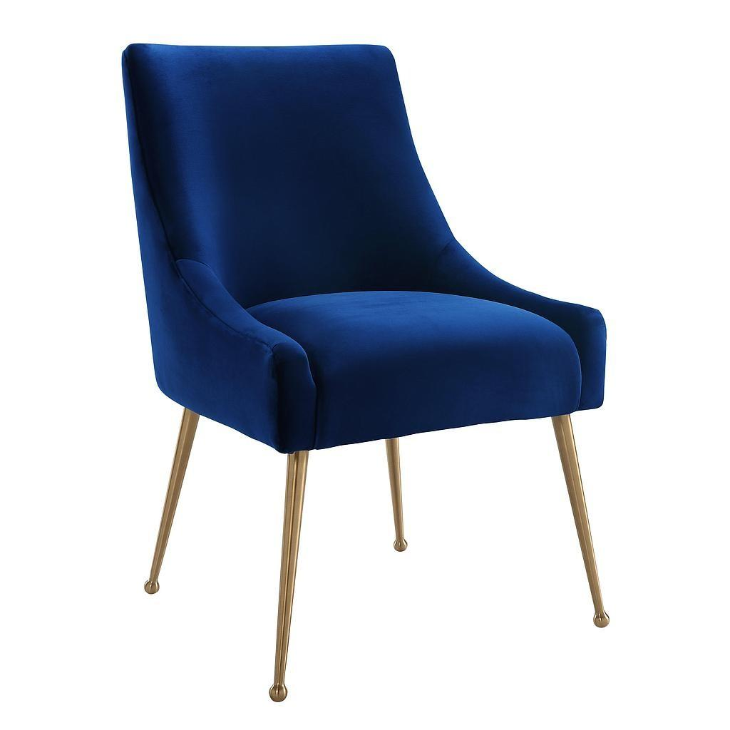 Blue Velvet Chair Black Chairs Payton Arm