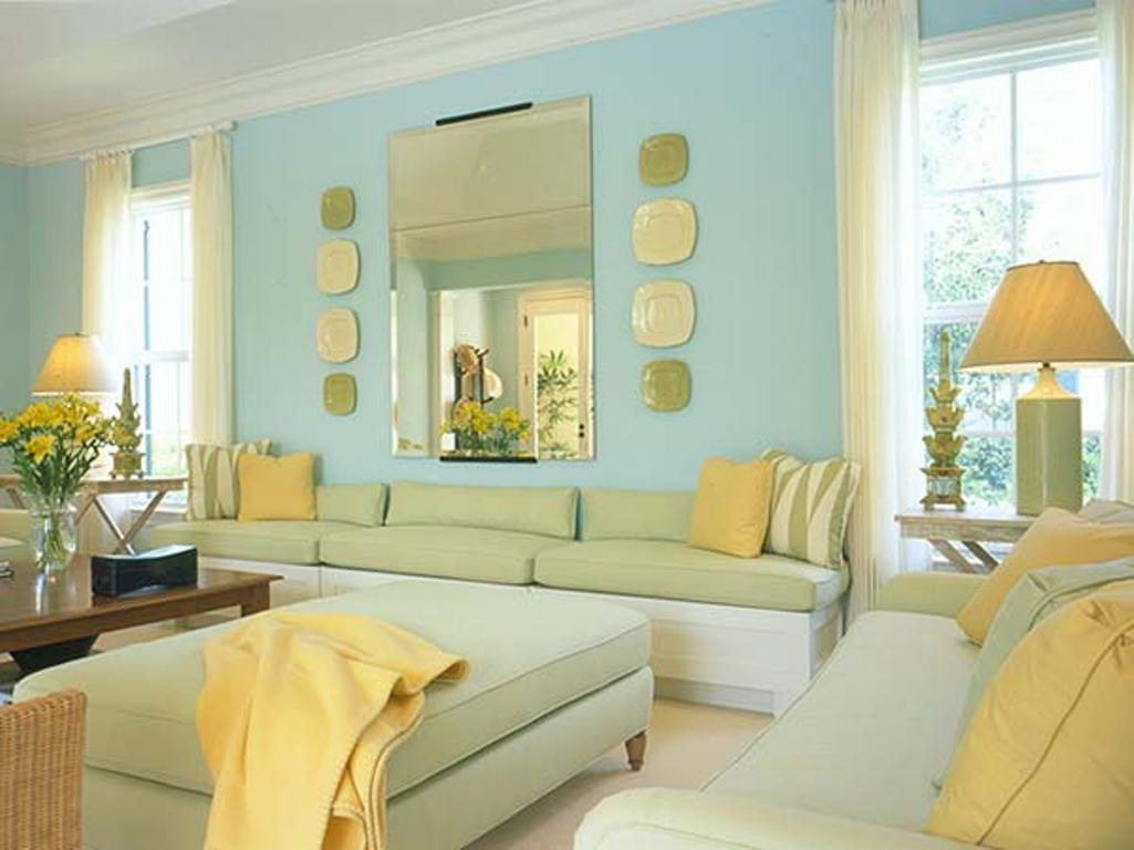 Blue Yellow Living Room Dgmagnets