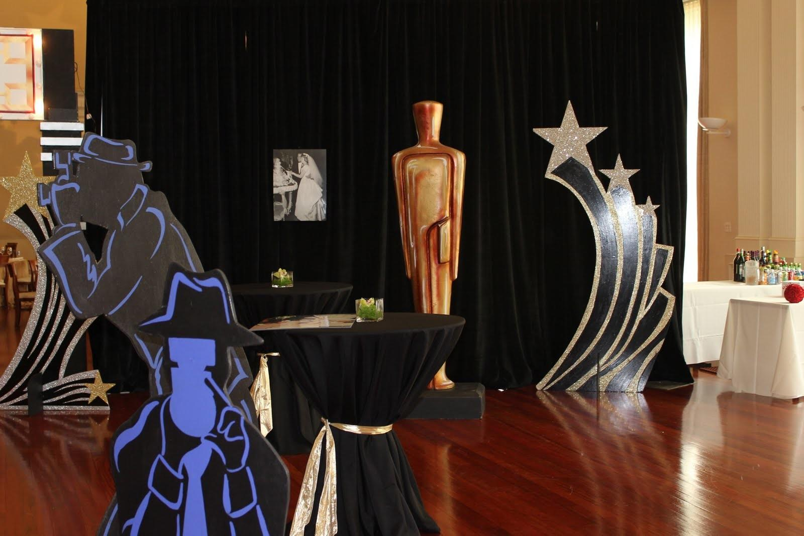 Bluming Creativity Hollywood Themed Party
