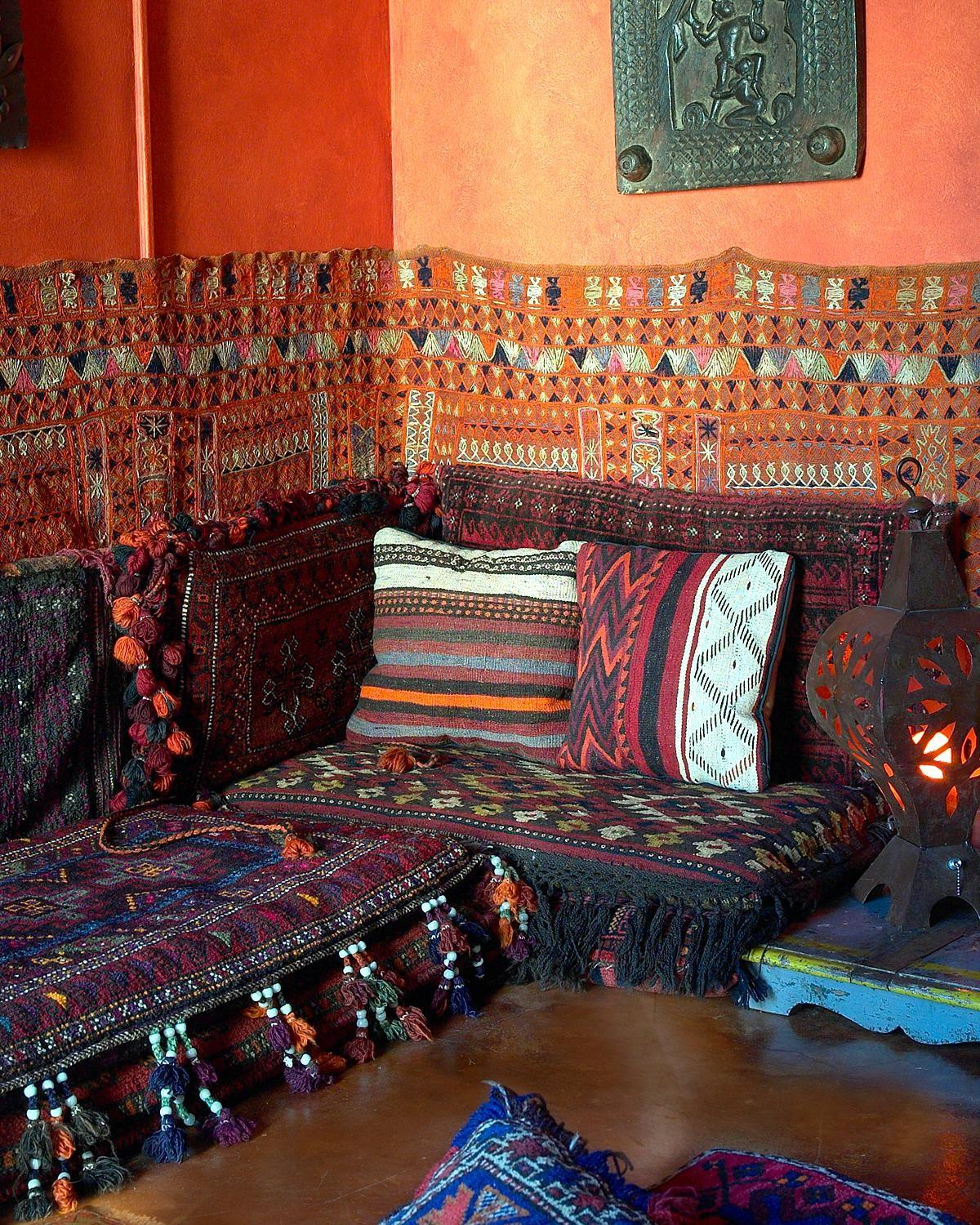Bohemian Love Moroccan Homes Have