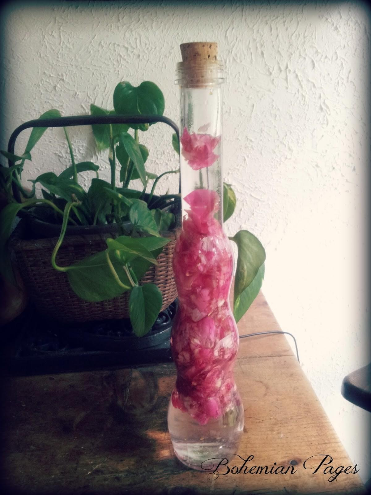 Bohemian Pages Make Your Own Rose Water