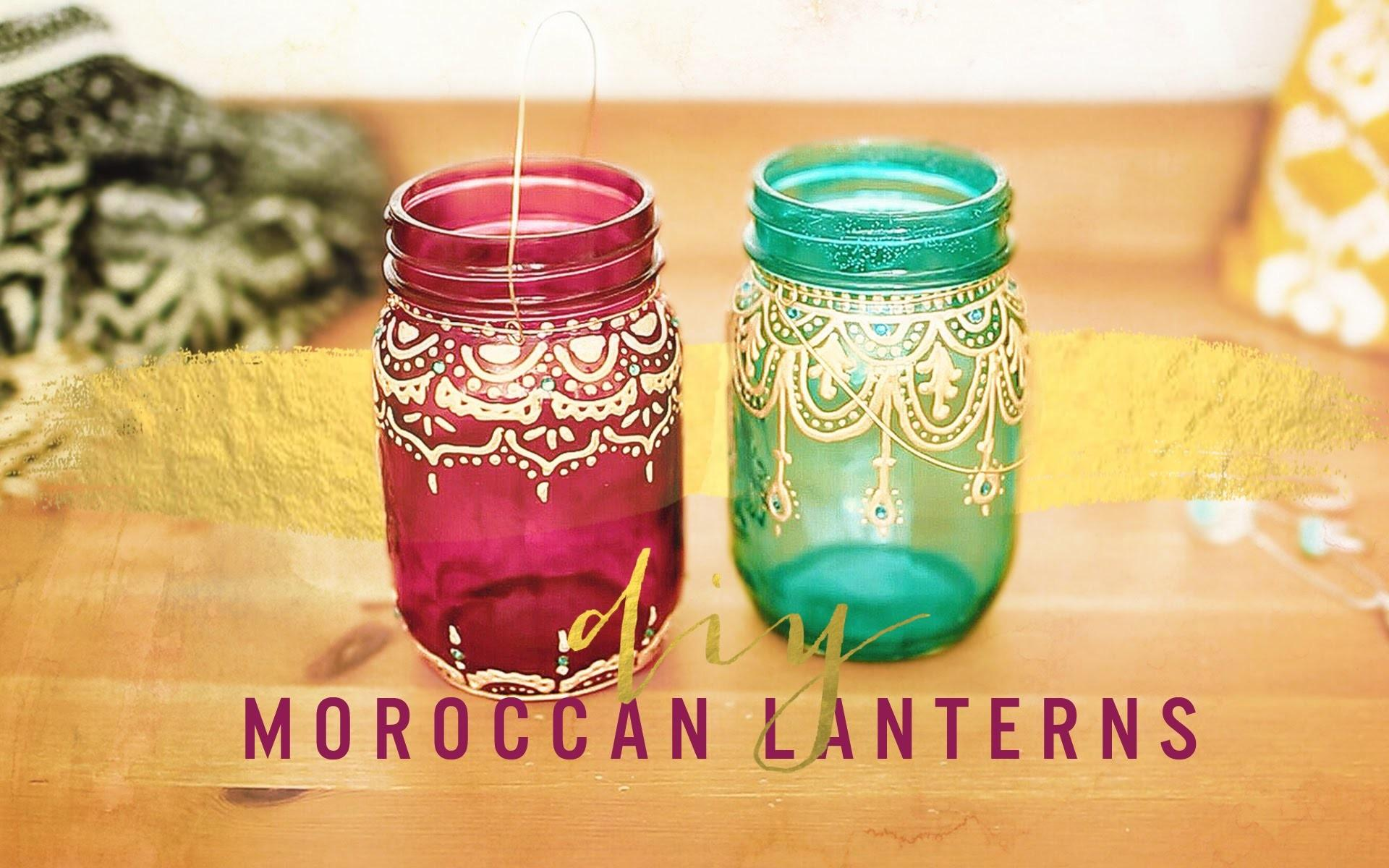 Bohemian Room Decor Diy Moroccan Lanterns