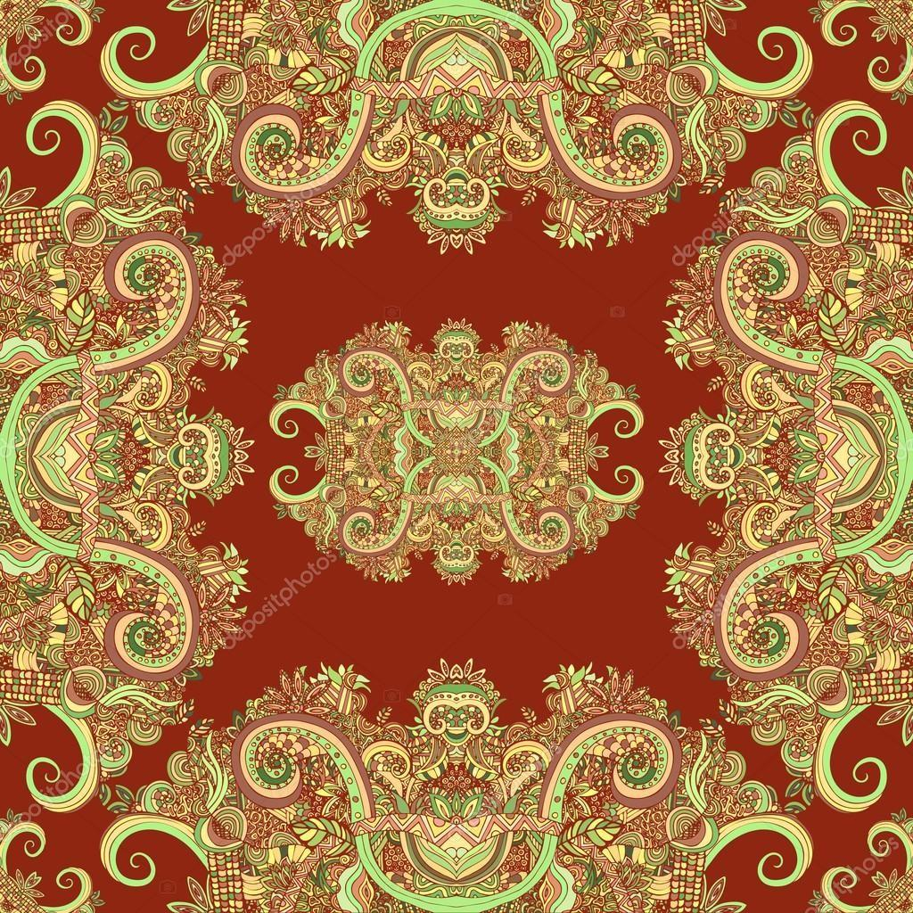 Boho Ornament Texture Abstract Floral Plant Natural