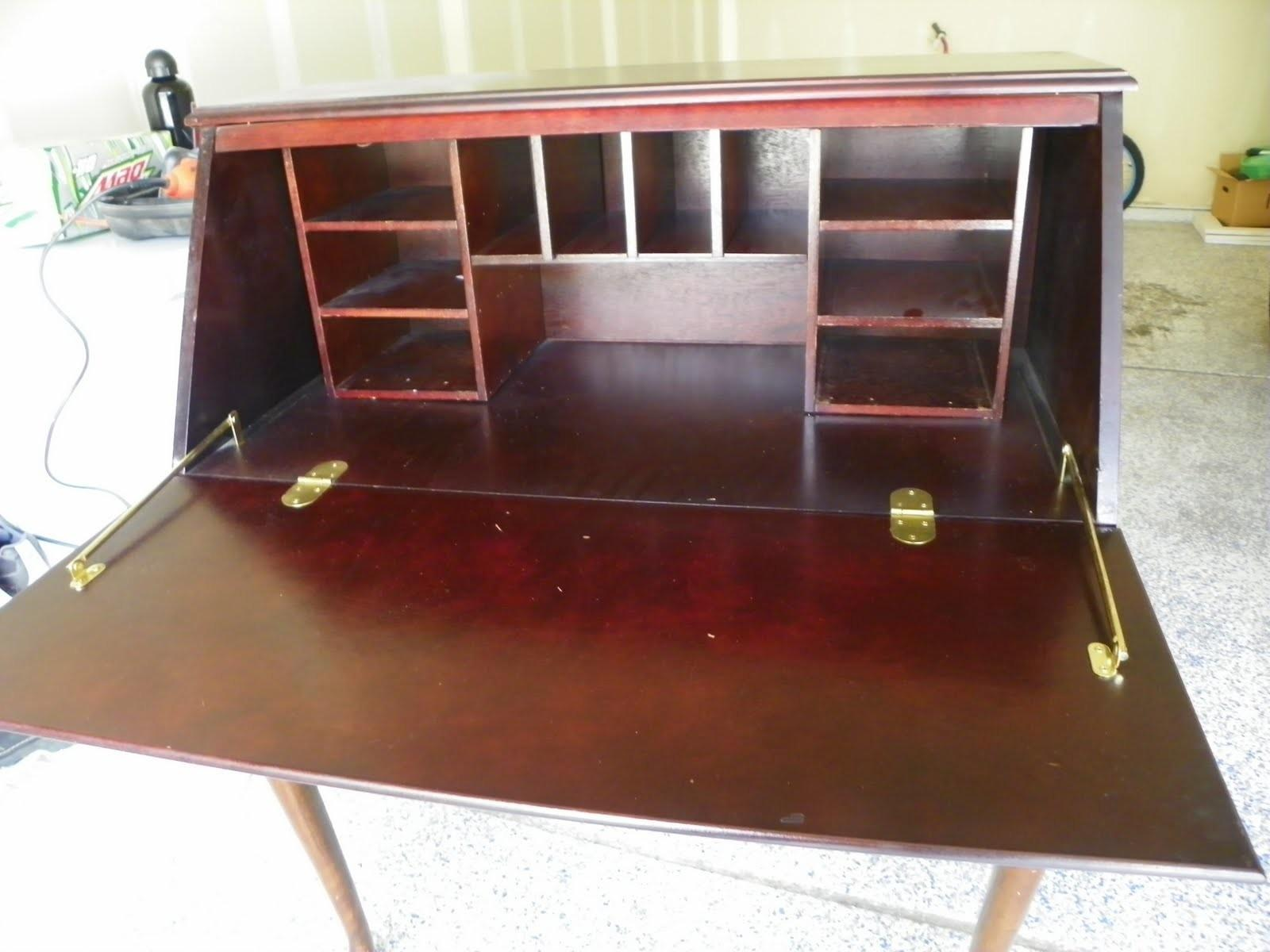 Bonnermania Secretary Desk Before After