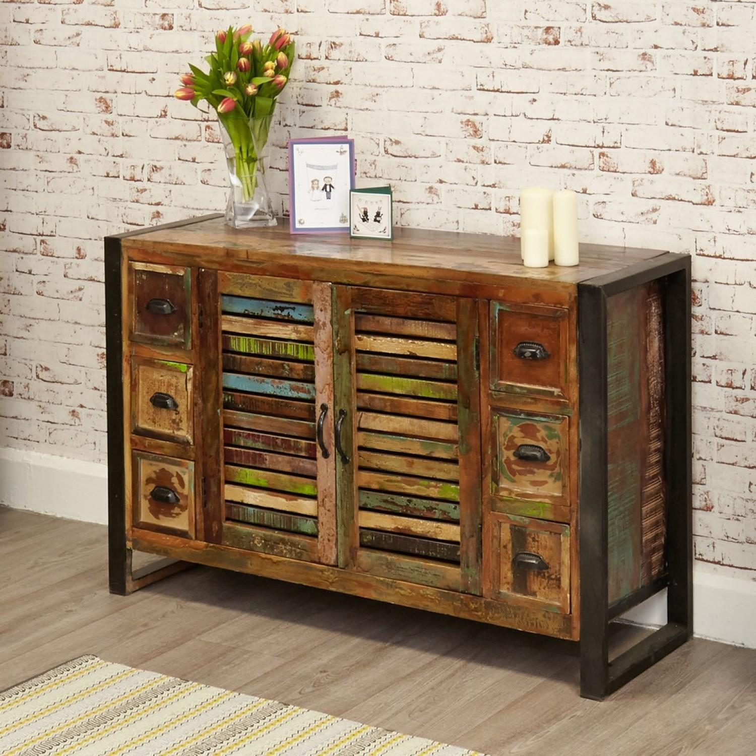 Bonsoni New Baudouin Drawer Sideboard Shabby Chic