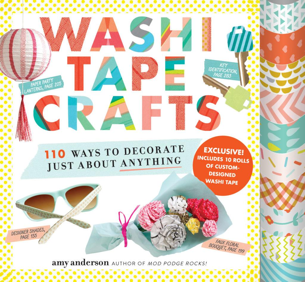 Book Washi Tape Crafts Laura Bray Designs
