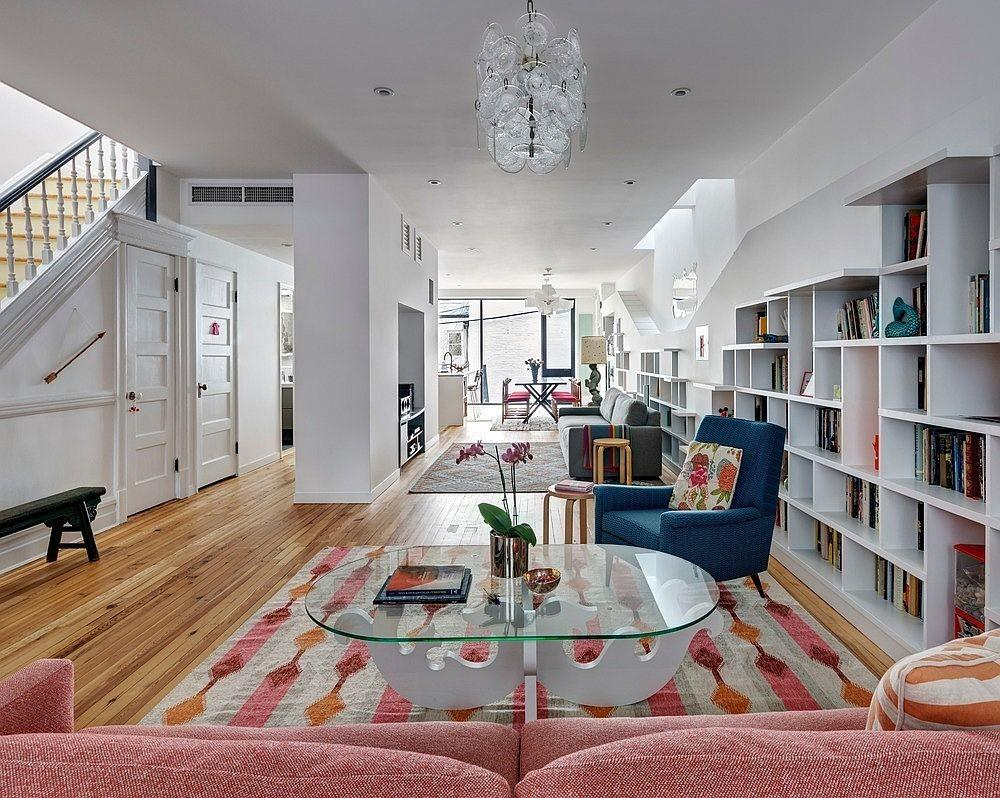 Books Cats Melon Popsicle Brooklyn Row House Revamp