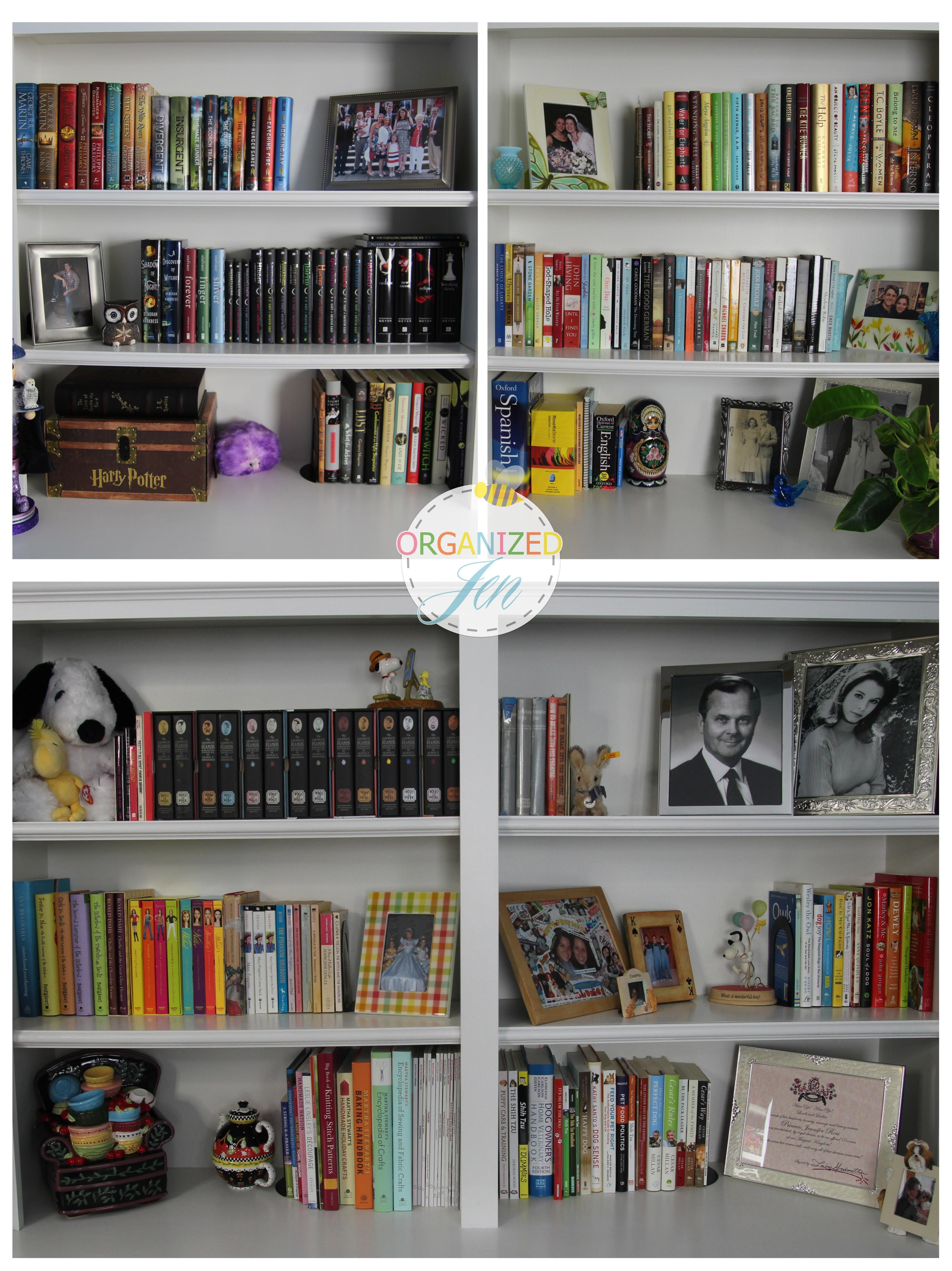 Bookshelf Tour Organization