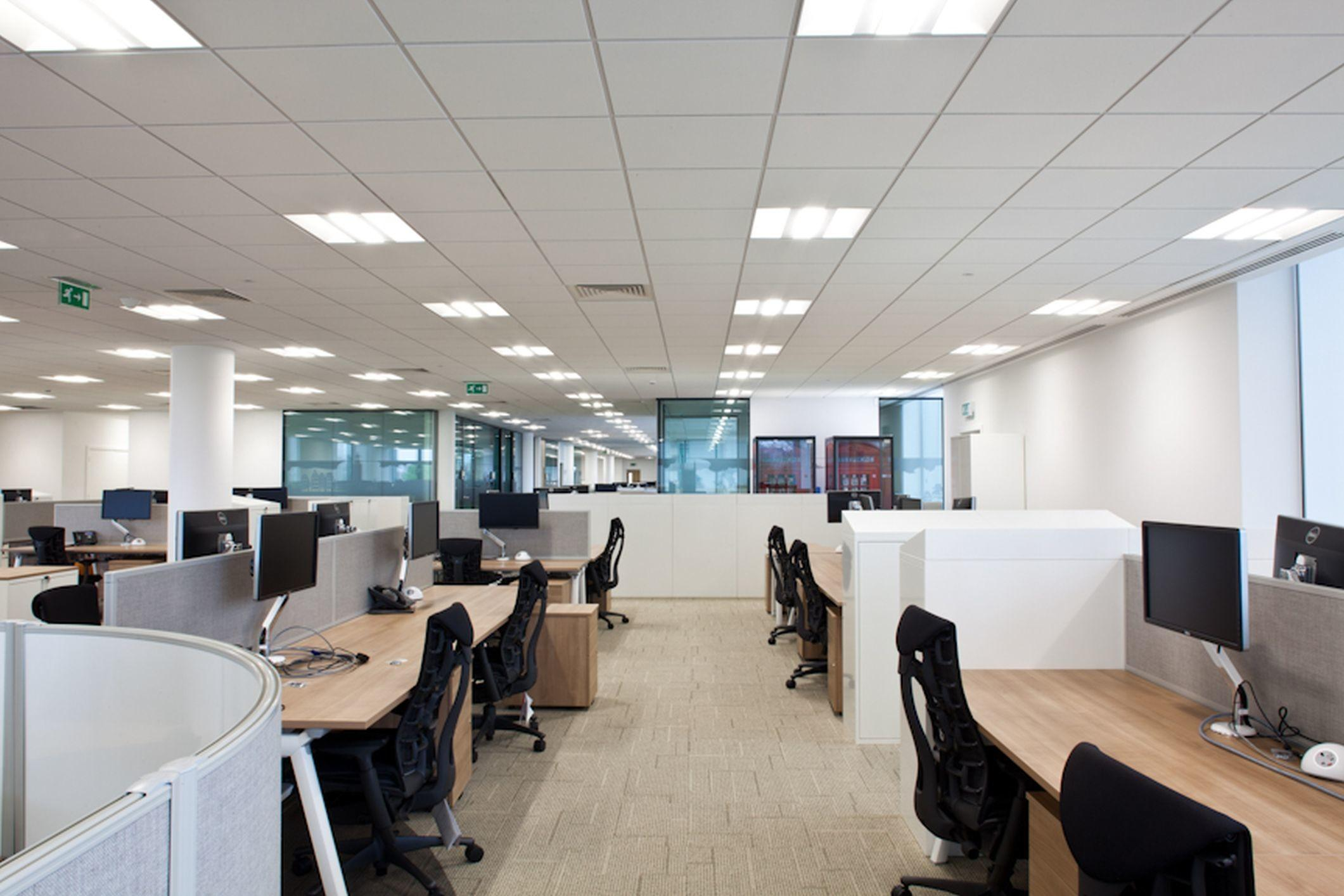 Boost Office Productivity Better Lighting Brightlec
