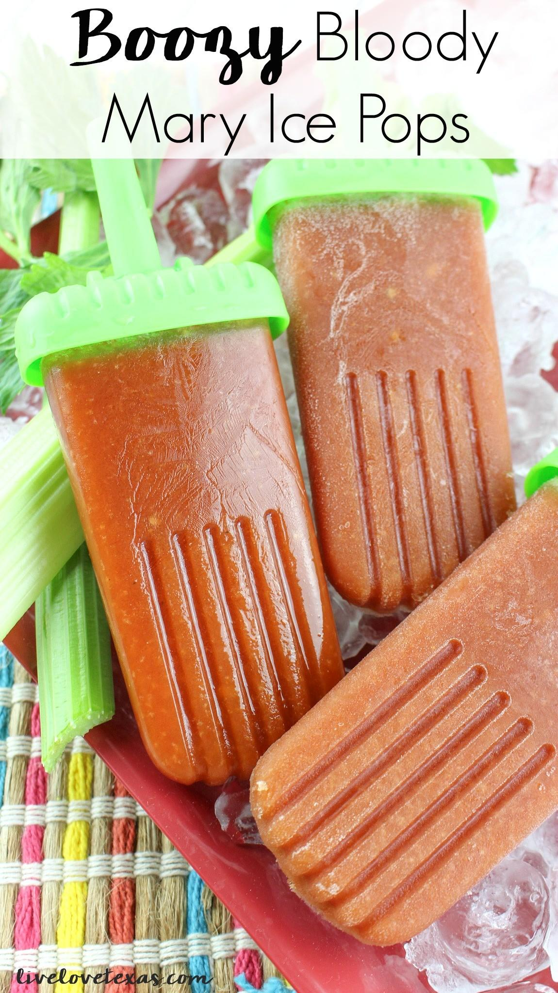 Boozy Bloody Mary Ice Pops Recipe Make Home Adult