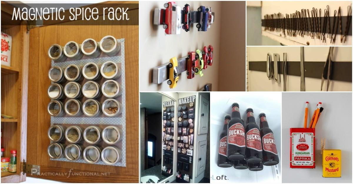 Borderline Genius Diy Projects Featuring Magnets