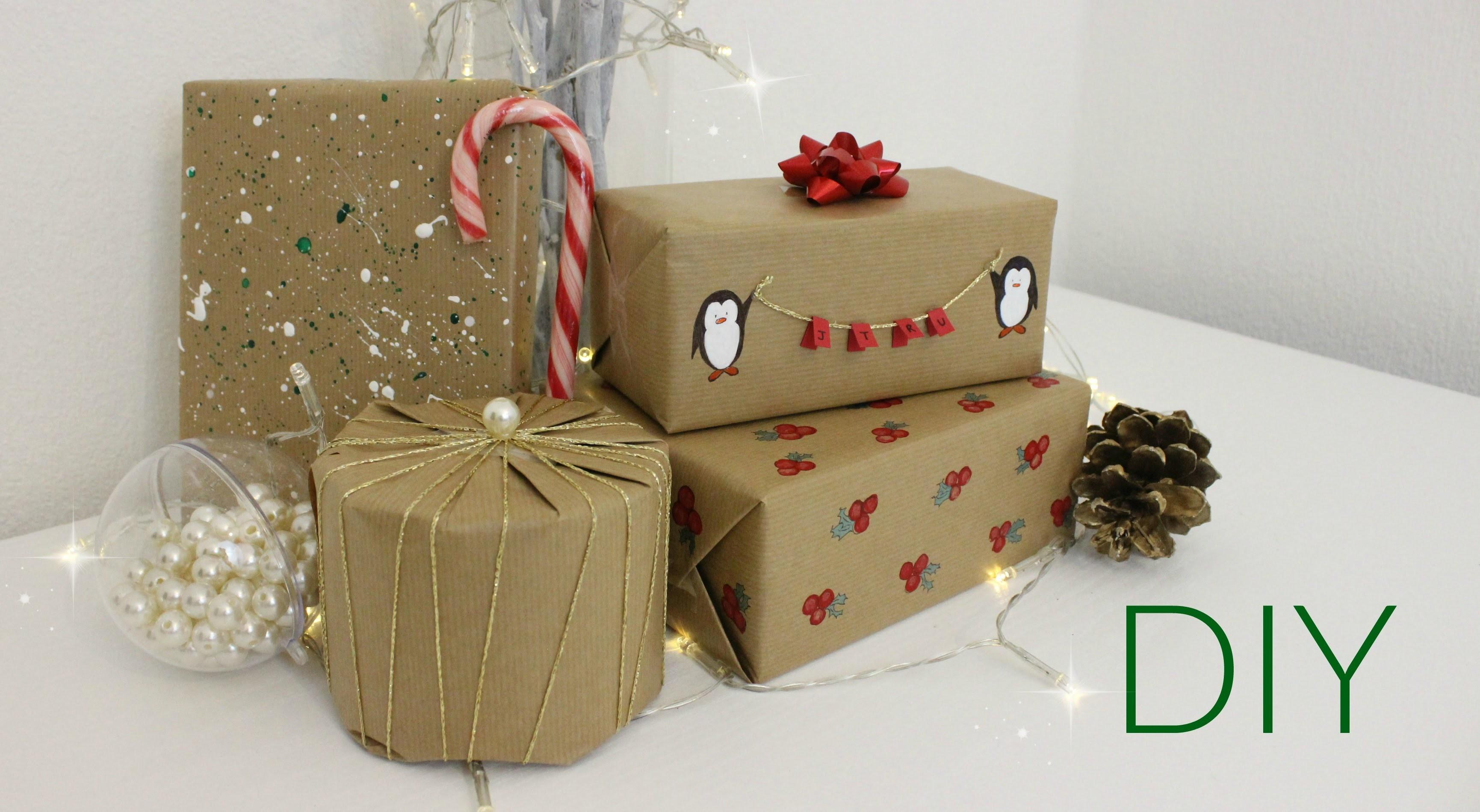 Boring Wrapping Paper Diy Christmas Ideas