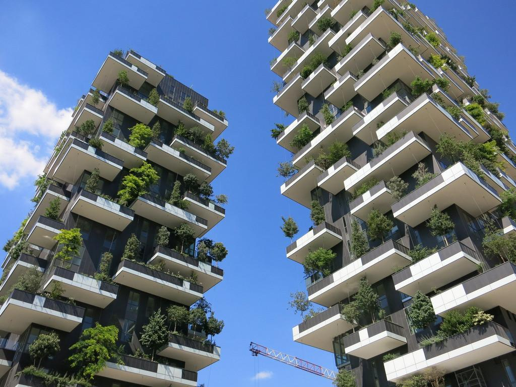 Bosco Verticale Grattacielo Bello Innovativo