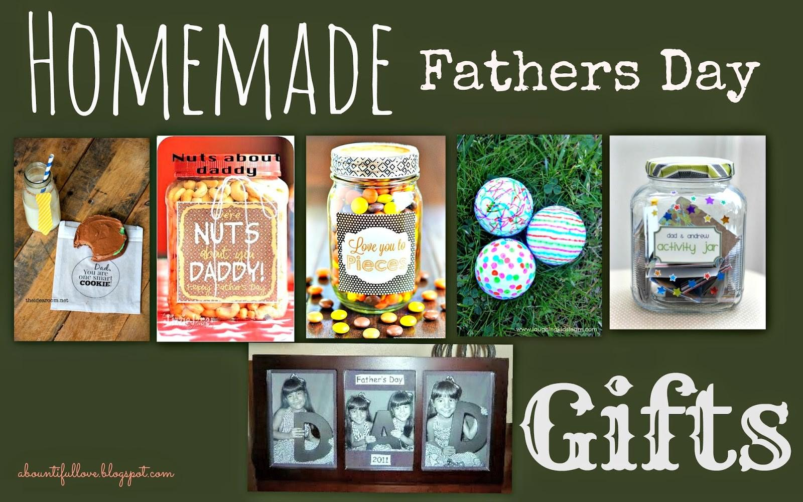 Bountiful Love Homemade Gifts Fathers Day