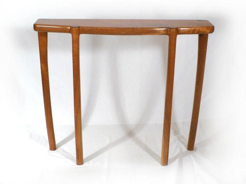 Bowfront Entryway Table Connor Sculptural