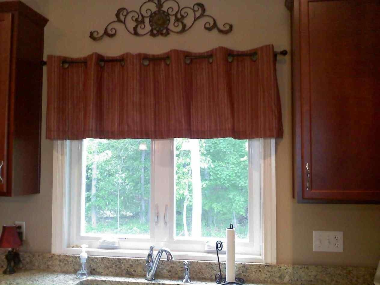 Box Diy Kitchen Curtains Sew Valance Around House