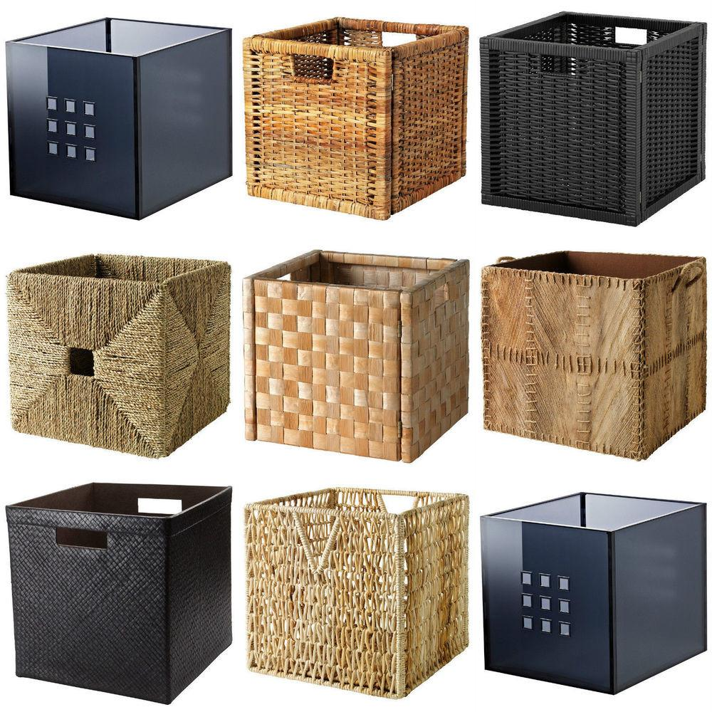 Boxes Baskets Dimensioned Fit Expedit Shelving