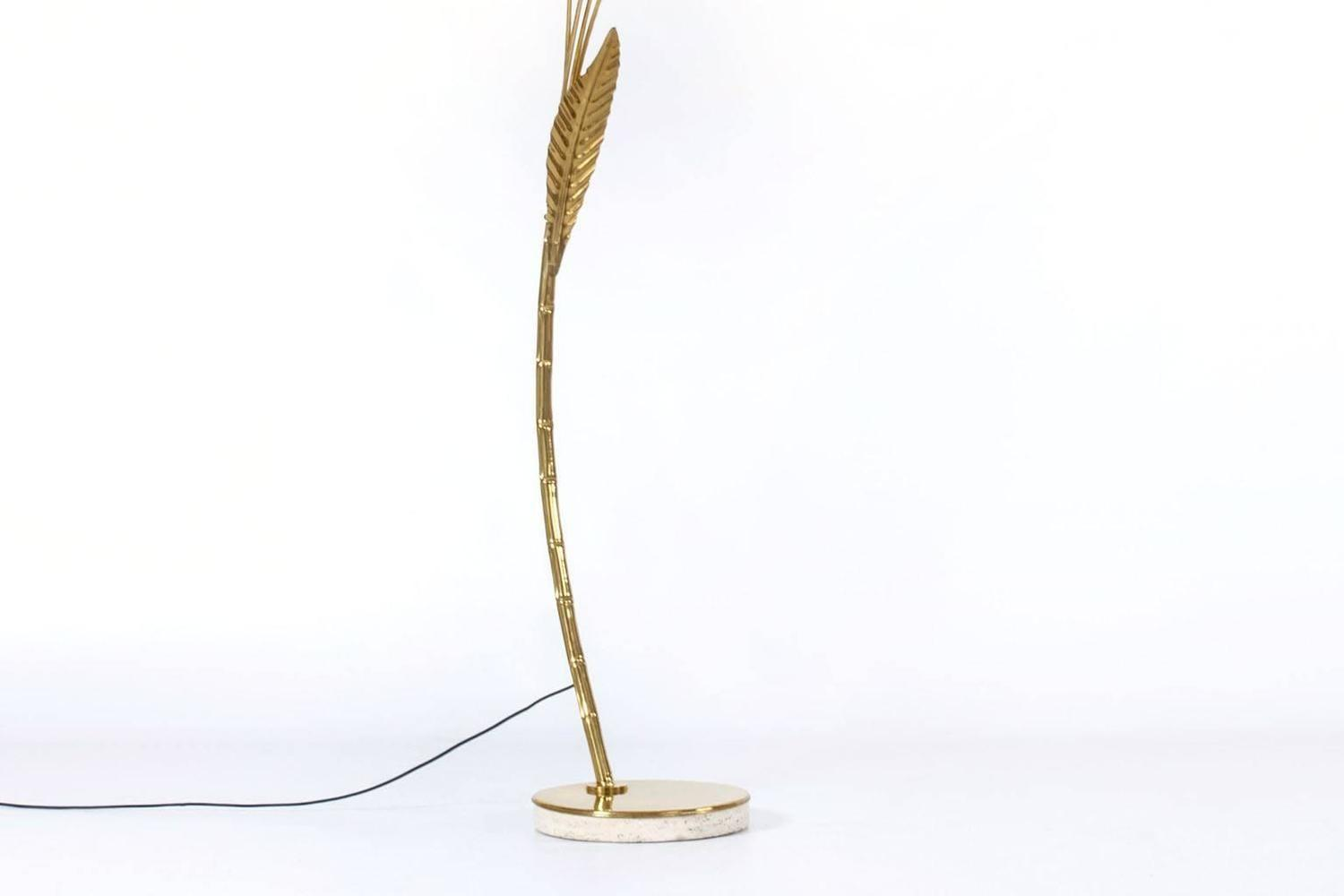 Brass Arc Floor Lamp Home Furniture Lighting