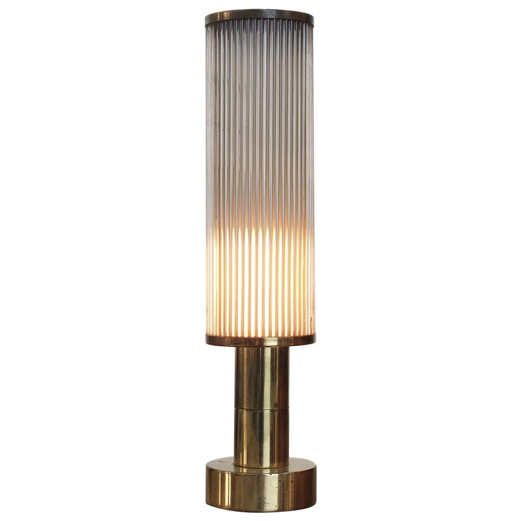 Brass Table Lamp Casella Lighting 1970s 1stdibs