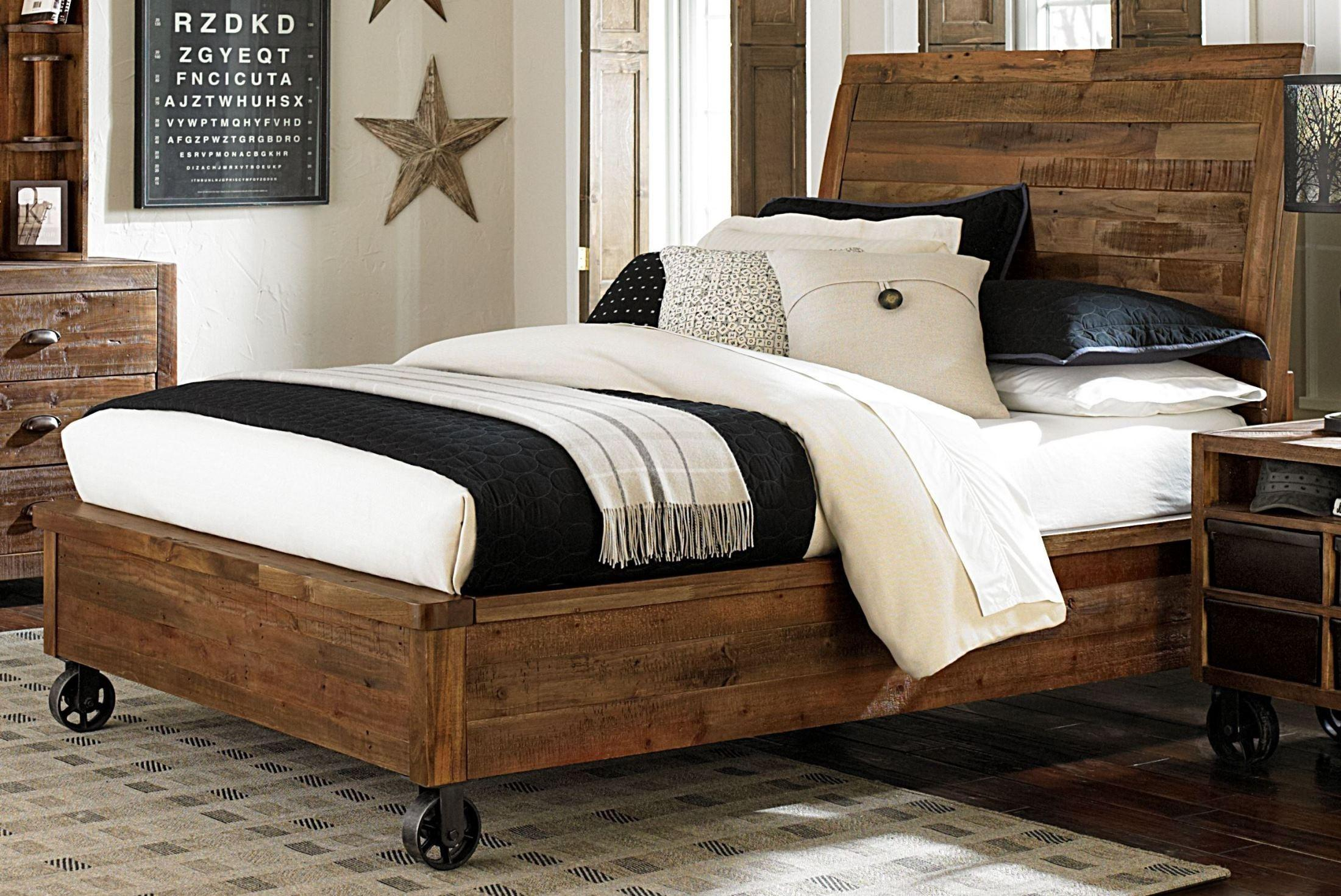 Braxton Twin Island Bed Casters Magnussen Home