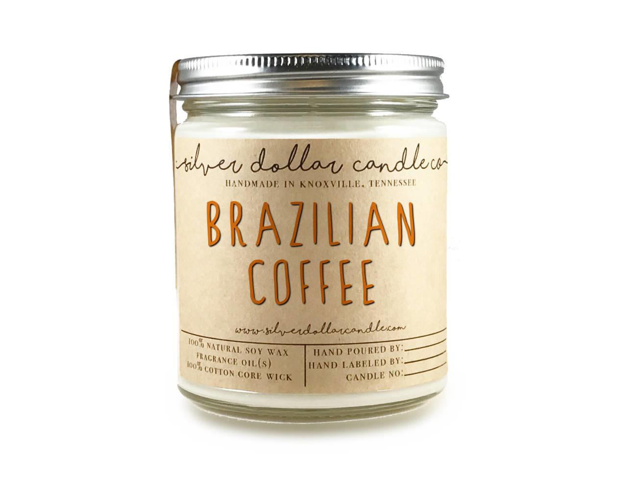 Brazilian Coffee 8oz Scented Candle Java