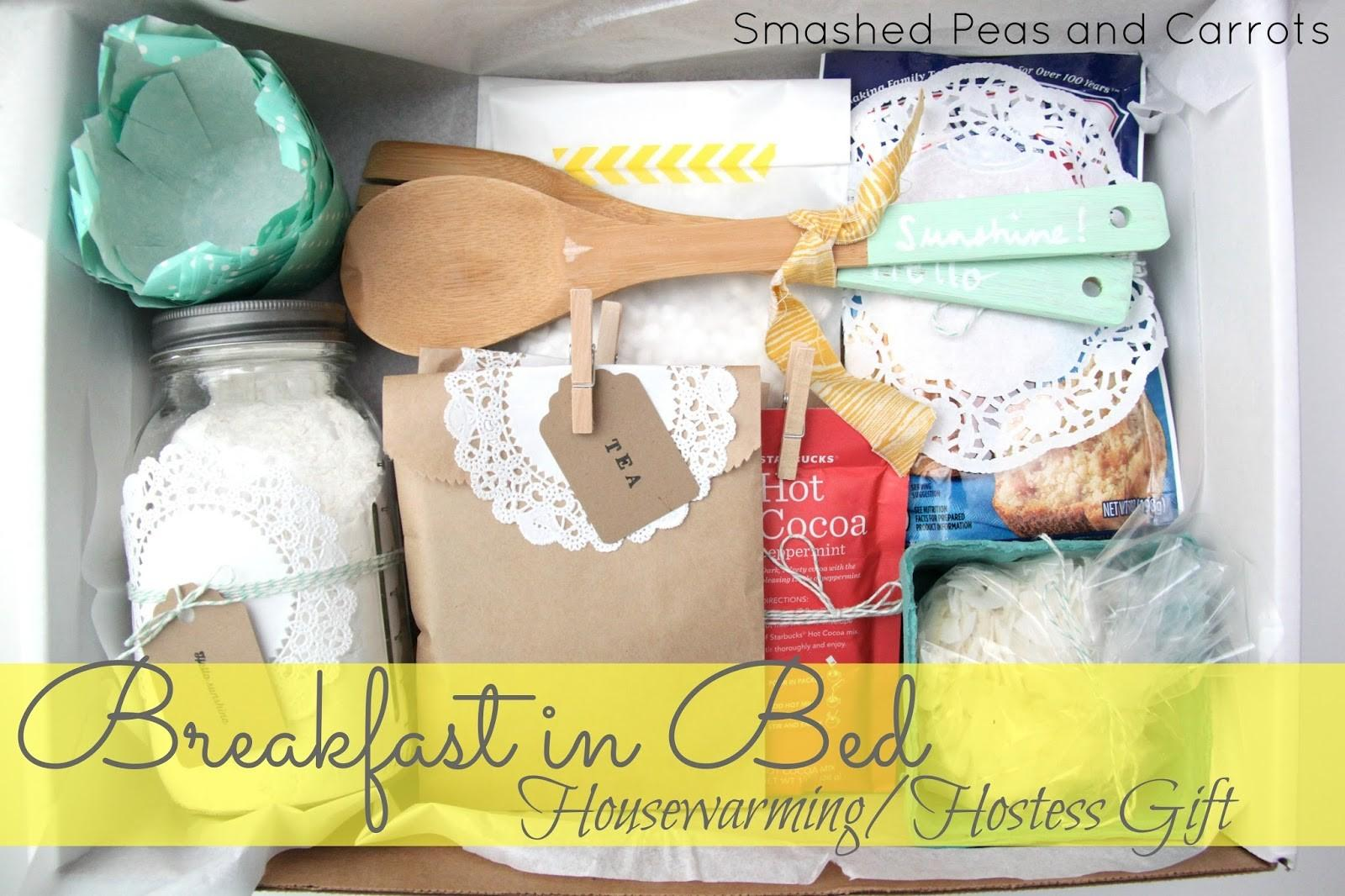 Breakfast Bed Housewarming Hostess Gift Idea Smashed