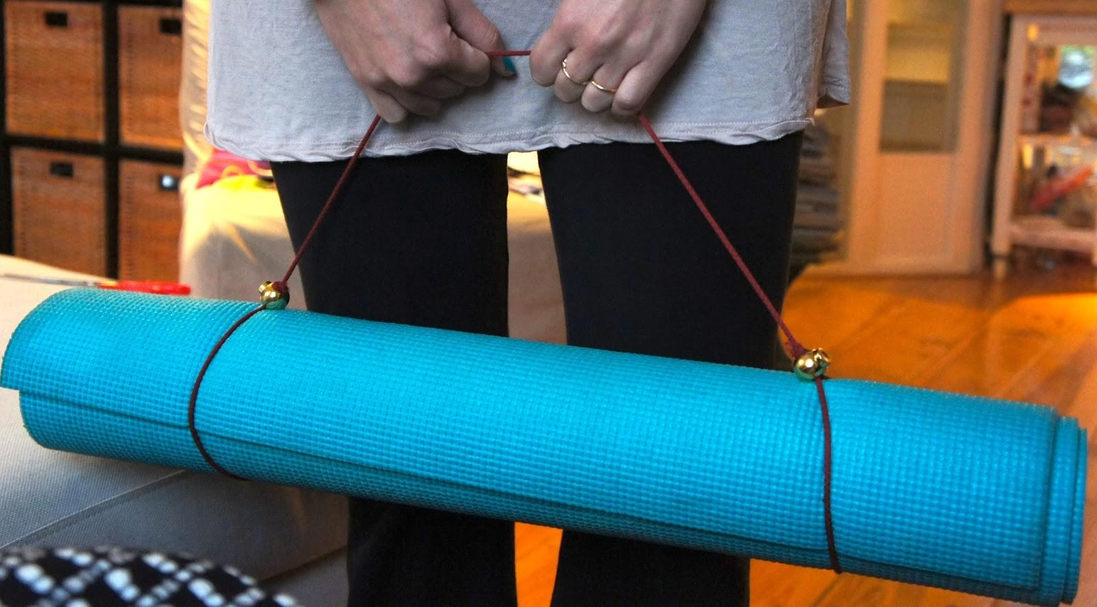 Breakfast Fayme Diy Yoga Mat Strap