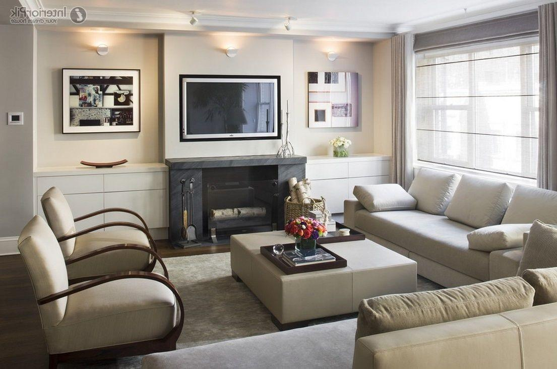 Breathtaking Simple Living Rooms Fireplace Modern