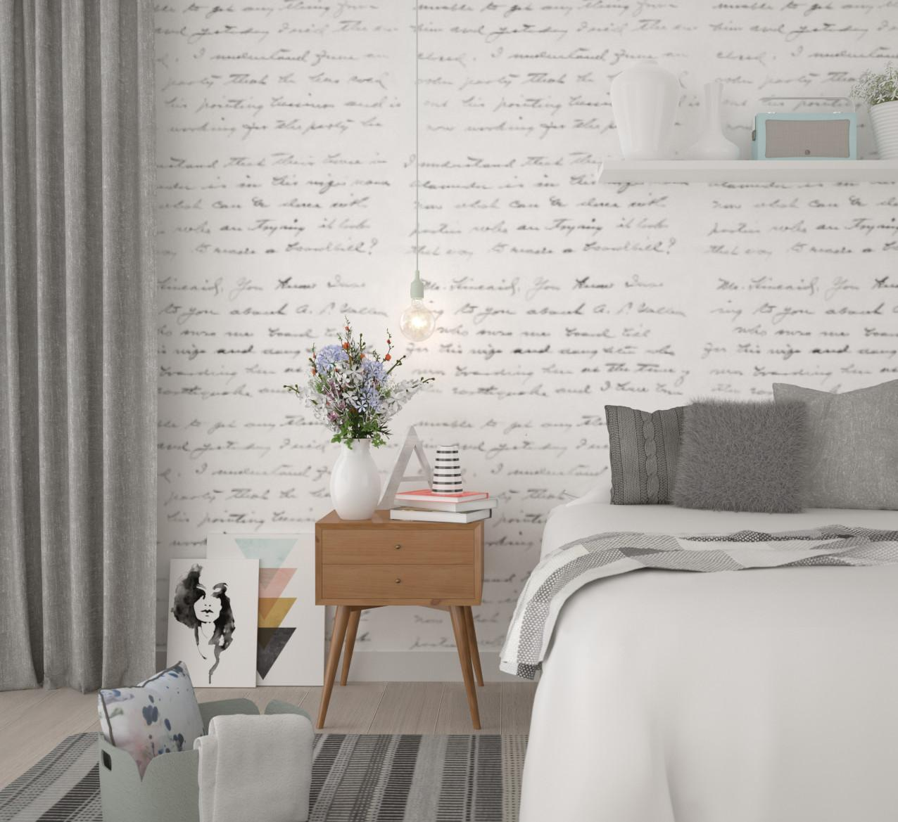 Breezy Scandinavian Bedroom Anita Brown Visualisation